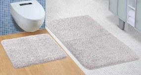 Brotex Kúpeľňová sada predložiek Micro 60x100 + 60x50cm sivá