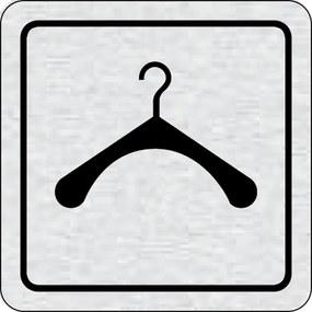 Cedulka na dvere - Šatňa