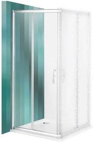 ROLTECHNIK Sprchové dvere posuvné PXS2L/900 brillant/transparent 537-9000000-00-02