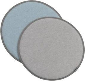 Vitra Sedák na stoličku Seat Dot, grey-blue