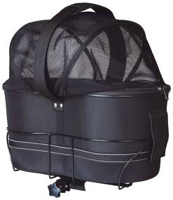 TRIXIE Prepravný box pre psa na bicykel 29x42x48 cm, čierny 13118
