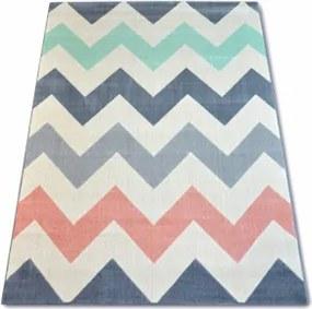 ZIG ZAG PINK koberec 120 x 170 cm