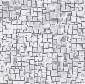 Samolepiace fólie 13776, 3D kostky sivé, rozmer 45 cm x 15 m, Gekkofix