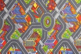 AKCE: 120x80 cm Metrážový koberec Big City 97 - Rozměr na míru s obšitím cm