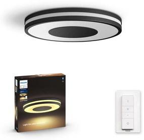 Philips HUE White Ambiance 32610/30/P6 Being stropné LED svietidlo 32W/2400lm 2200-6500K LED+SWITCH čierna Bluetooth