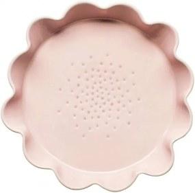 Ružová forma na koláč Sagaform Piccadilly, Ø 28 cm