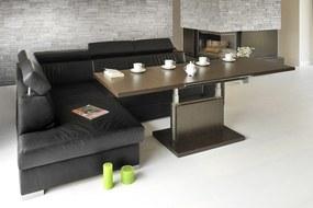 Mazzoni ASTON wenge, rozkladacia, zdvíhací konferenčný stôl, stolík