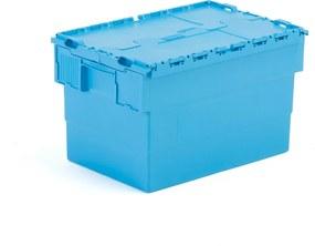 Úložný box Gayle, 64 L, 600x400x350mm mm, modrý