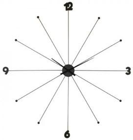 KARE DESIGN Nástenné hodiny Like Umbrella čierna