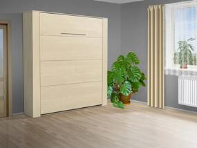Nabytekmorava Výklopná posteľ VS 3070P, 200x140cm nosnost postele: štandardná nosnosť, farba lamina: breza 1715