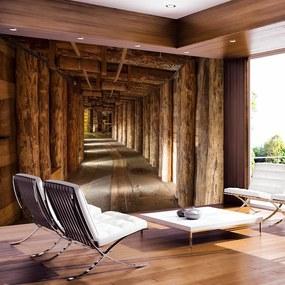Fototapeta drevená štôlňa - Wieliczka