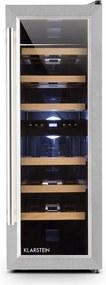 Klarstein Reserva Duett 12, 65 litrov, 21 fliaš, chladnička na víno, 2 zóny
