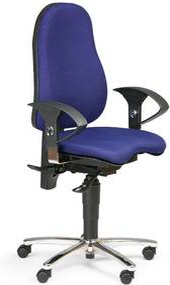 7c4a84628e61 TOPSTAR Zdravotná kancelárska stolička EXETER
