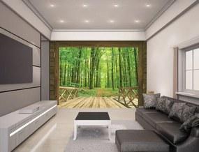 Walltastic 3D Tapeta Woodland Forest, Rozmer 244cm x 305cm