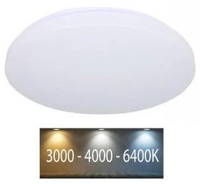V-Tac LED Stropné svietidlo LED/24W/230V 35cm 3000K/4000K/6400K mliečna VT0491