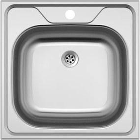 Kuchynský nerezový drez Sinks CLASSIC 480 M matný