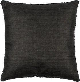 Koopman Vankúšik s flitrami čierna, 45 x 45 cm