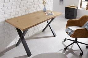 Bighome - Písací stôl LAFT 140 cm - prírodná