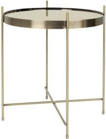 Zlatý odkladací stolík Zuiver Cupid