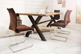 Stolička Bland Vintage hnedá