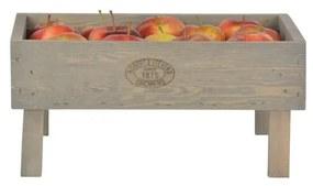 Stohovateľná prepravka z borovicového dreva Esschert Design, výška 19 cm