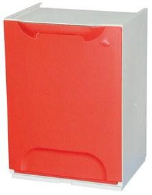 Artplast Plastový kôš na triedený odpad, červená