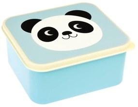 Modrý desiatový box Rex London Miko The Panda