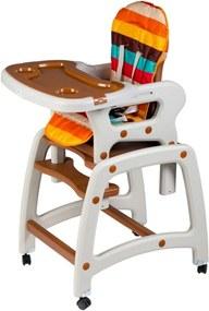 cc8465a820d0 Čiernobiele a vzorované detské jedálenské stoličky