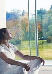 Samolepiace fólie na sklo protislnečné ochrana priehľadná, rozmer 90 cm x 200 cm, d-c-fix 339-2000, samolepiace tapety