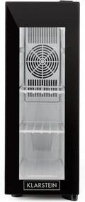 Frosty, chladiaca vinotéka, 13 l, 8-18 °C, sklené dvierka, 35 dB, čierna