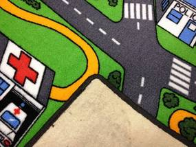 Vopi koberce Kusový koberec City life - 80x120 cm