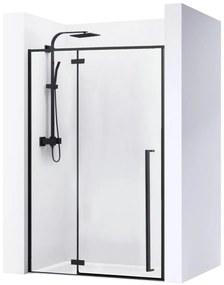 REA Sprchové dvere FARGO BLACK MAT 110 cm