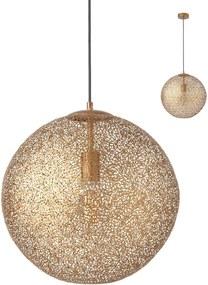 Moderné svietidlo REDO PROTEUS zlatá E27 01-1514