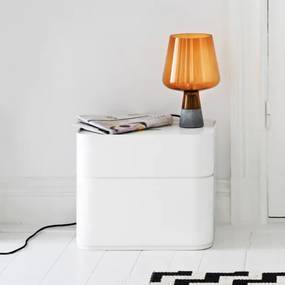 Úložný box Vakka 45x15x30, biely Iittala