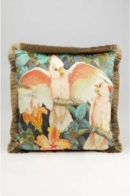 KARE DESIGN Sada 2 ks Dekoratívny vankúš Parrots Life 45x45 cm