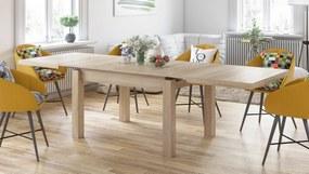 ROYAL jídelní stůl rozkládací - dub sonoma, pre 8 osôb