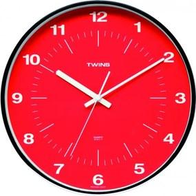 Twins hodiny 7911 červené 31cm