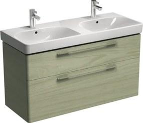 Kúpeľňová skrinka pod umývadlo KOLO Traffic 116,8x62,5x46,1 cm bielený jaseň 89506000