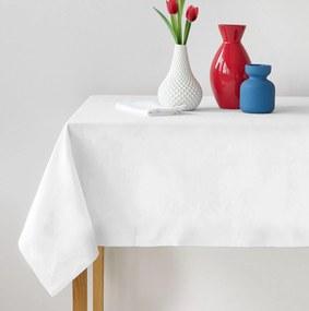 Bavlnený obrus biely Gramáž: 150 g/m2, Rozmer: 120 x 140 cm