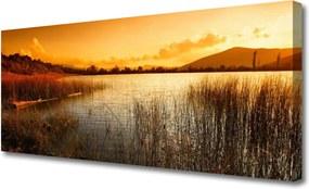 Obraz Canvas Jazero Príroda Západ