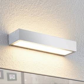 Lindby Layan kúpeľňové nástenné LED, chróm, 30cm