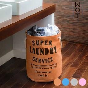 Vrece na Špinavú Bielizeň Super Laundry Service Wagon Trend, Tyrkysová