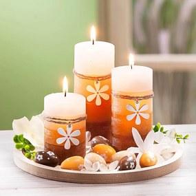 Dekoračná sada so sviečkami Veľká noc