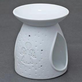 AROMA LAMPA porcelán - ANJEL biela