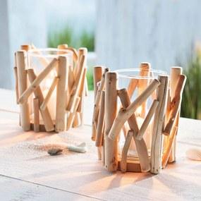 Svietniky Vyplavené drevo, 2 kusy