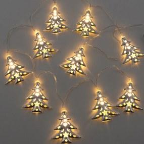 Svetelný reťaz, Vianočný stromček, 10 LED Homania V03005941