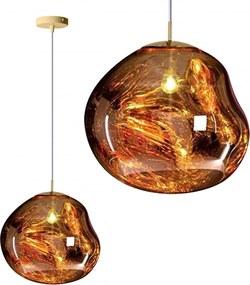 Stropné svietidlo TooLight Lava zlaté