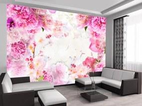 Murando DeLuxe Kvetoucí zahrada 150x105 cm