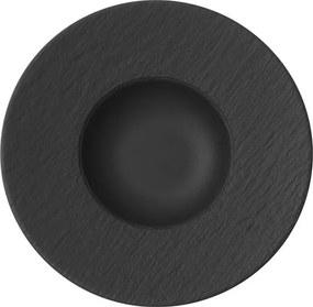 Villeroy & Boch Manufacture Rock tanier na cestoviny, Ø 29 cm