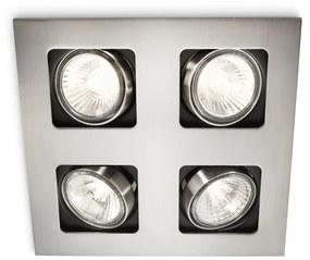Philips Philips 59304/17/16 - Kúpeľňové podhľadové svietidlo MYLIVING ACAMAR 4xGU10/35W M1140